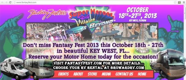 FANTASY FEST 2013!!!