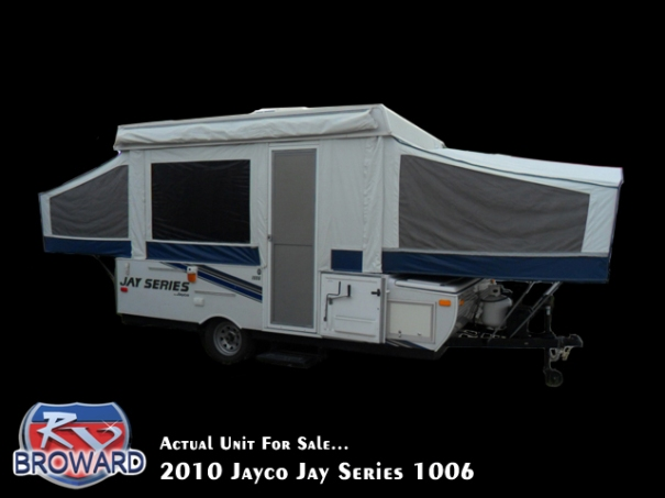 2010 Jayco Jay Series 1006 Folding Pop-Up Camper
