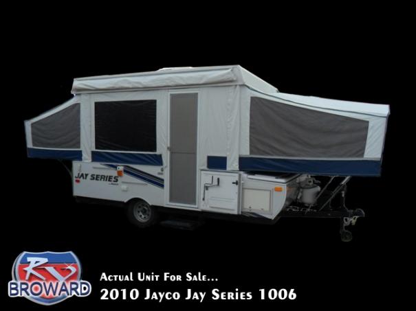2010 Jayco Jay Series 1006 Folding Pop-Up Camper