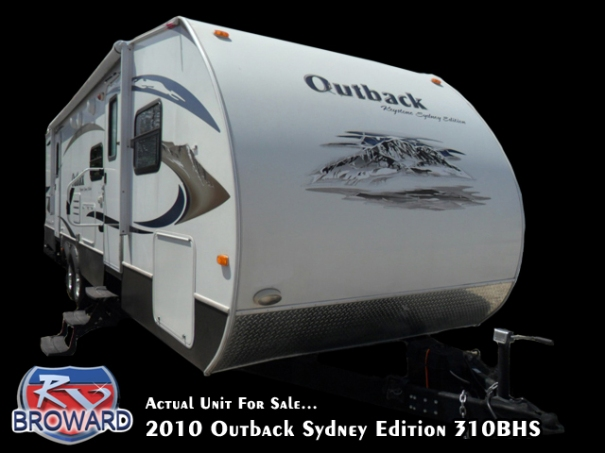 2010 Keystone RV Outback Sydney Edition 310 BHS Travel Trailer