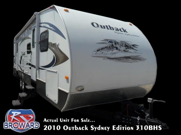2010 Keystone RV Outback Sydney Edition 310 BHS Travel Trailer