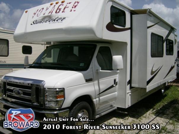 2010 Forest River RV Sunseeker 3100SS Motor Home Class C