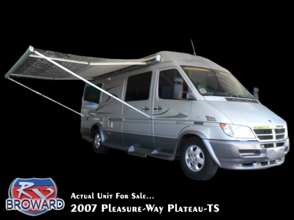 2007 Pleasure-Way Plateau-TS Class B Motor Home for SALE!