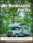 "Cover of ""No Boundaries For Us"" - Fall Issue. Featuring Rental 150 from Planet RV & Travel Center's Motorhome Rental Fleet."